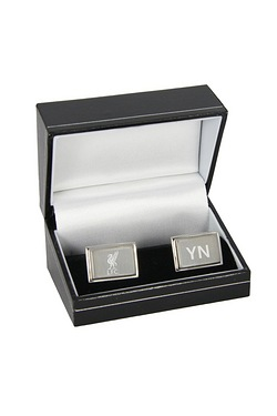 Personalised Liverpool Crest Cufflinks