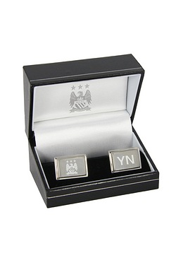 Personalised Manchester City Cufflinks