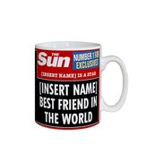 Personalised The Sun Best Friend Mug