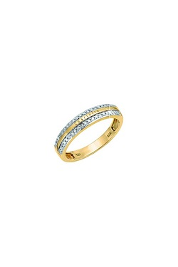 Personalised Gents 9ct Gold Ring Wi...