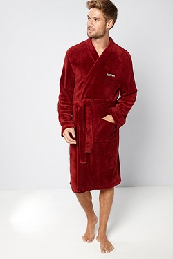 Personalised Mens Supersoft Bath Robe