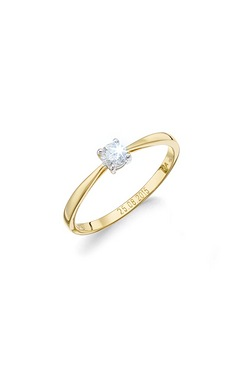 Personalised 9ct Yellow Gold 0.25 C...
