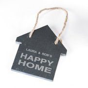 Personalised House Shaped Slate