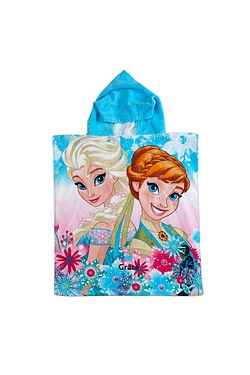 Personalised Poncho - Disney Frozen