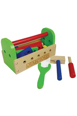 Personalised - Wooden 24 Piece Tool...
