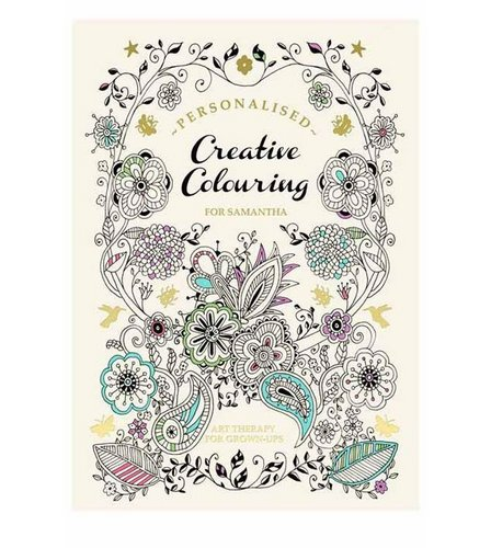 Image for Personalised Adult Creative Colouring Book from ace