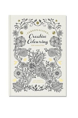 Personalised Adult Creative Colouring Book