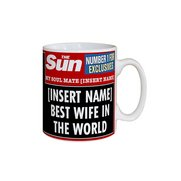 Personalised The Sun Best Wife Mug