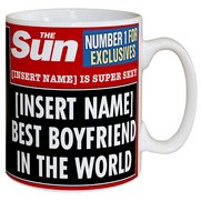Personalised The Sun Best Boyfriend...