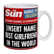 Personalised The Sun Best Girlfrien...