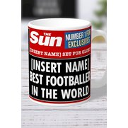 Personalised The Sun Best Footballe...