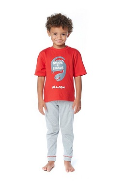 Boys Personalised Snoozasaurus Pyjamas