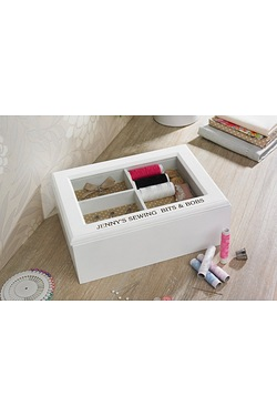 Personalised MDF Sewing Box