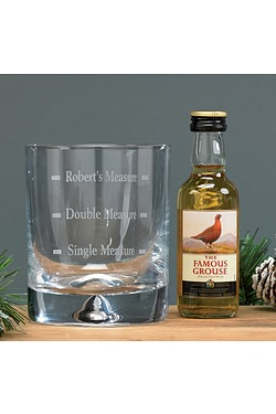 Personalised Whiskey Set - Grouse