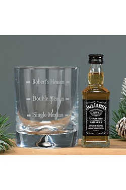 Personalised Whiskey Set - Jack Dan...
