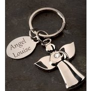 Personalised Guardian Angel Keyring
