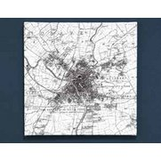 Personalised Canvas Maps - Victorian