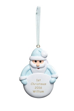 Personalised Santa Decoration