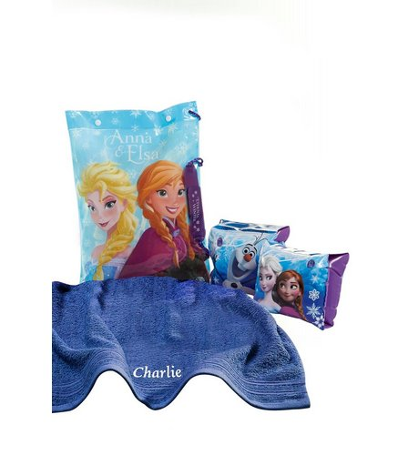 Image for Disney Frozen Personalised Swimbag Set from ace