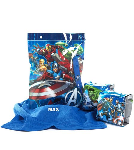 Image for Marvel Avengers Personalised Swimbag Set from ace