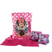 Minnie Mouse Personalised Swimbag Set