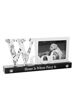 Personalised Pet Frame - Woof