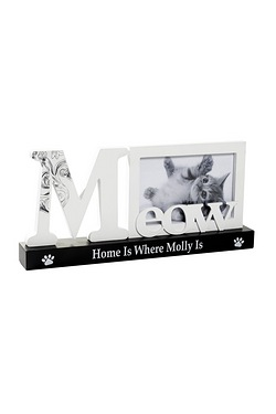 Personalised Pet Frame - Meow