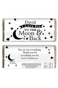 Personalised To The Moon and Back.....