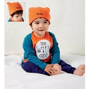 Boys 2-Piece Set With Pers Hat