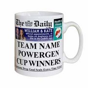 Personalised The Daily Rugby Union Mug