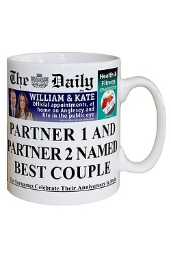 Personalised The Daily Anniversary Mug