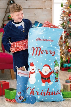 Personalised Jumbo Santa Sack with ...