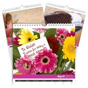 Best Mum Personalised A4 Calendar