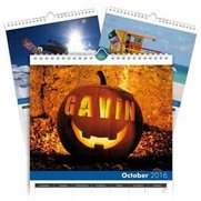 Seasons Personalised A4 Calendar