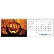 Personalised Seasons Desktop Calendar