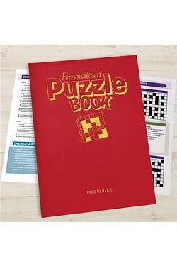 Personalised Puzzle Book A4 Deluxe Version