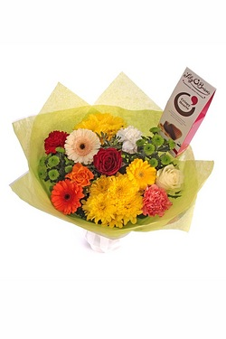 Personalised Colourful Bouquet With...
