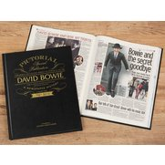 David Bowie Pictorial Edition Newsp...