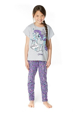 Girls My Little Pony Personalised P...