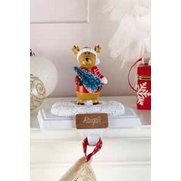 Personalised Reindeer Stocking Hanger