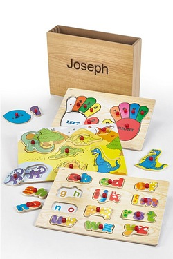 Personalised Dino Wooden Puzzles