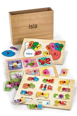 Personalised Wooden Garden Puzzles