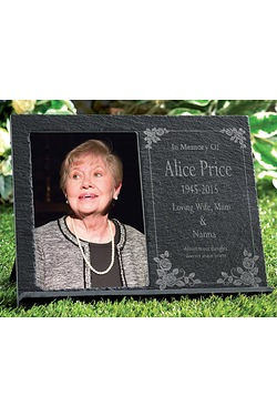 Personalised Memorial Picture Slate