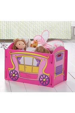 Personalised Carriage Toy Box