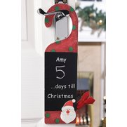 Personalised Christmas Door Hanger