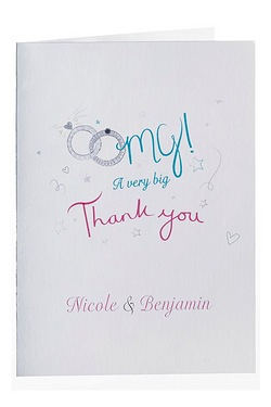 Personalised OMG Thank You Cards
