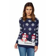 Brave Soul Penguin Twin Jumper - Navy
