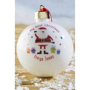 Personalised My First Christmas Bauble