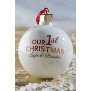 Personalised Our First Christmas Ba...