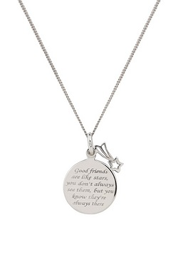 Personalised Sterling Silver Friend...